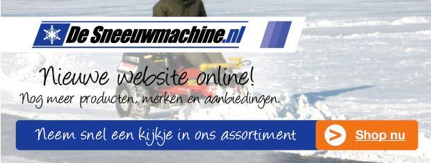 Nieuwe website de sneeuw machine